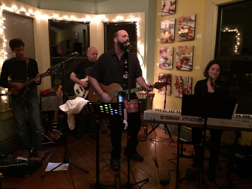 The band plays live Upstairs @ The First Street Cafe in Benicia, November 13, 2015
